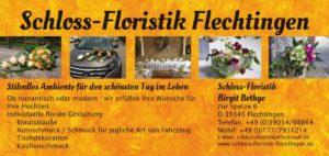 Flyer Schloss-Floristik Flechtingen Hochzeit