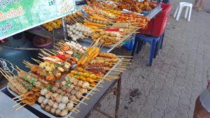Fotos vom Straßenstand in Krabi